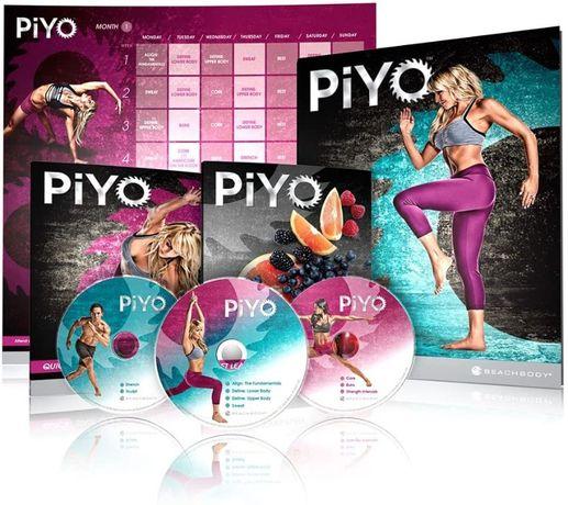 Program treningowy PIYO, Dieta, Plan treningowy