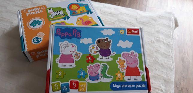 Puzzle Baby 2+ Trefl Peppa i zwierzęta