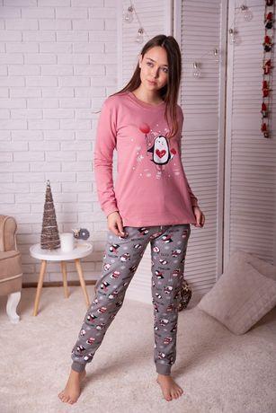 Продам новую женскую пижаму на байке, р. XL