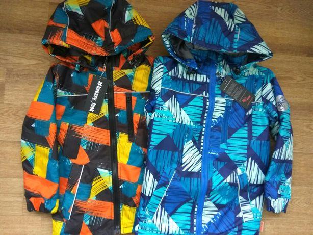 Демисезонная куртка Be easy из мембранной ткани в наличи от 110 до 152