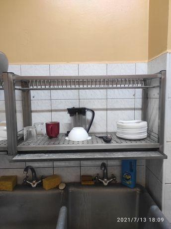 Сушка для посуду нержавійка