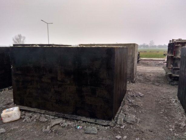 Zbiornik betonowy na deszczówkę, Szamba betonowe, Piwniczki