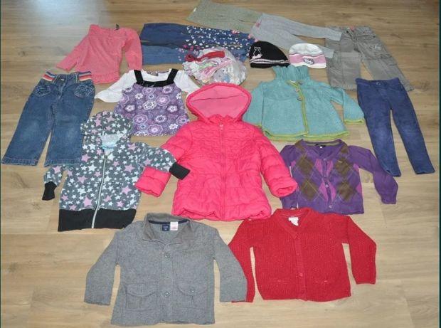 Zestaw 2-3 lata,paka-Next, Benetton,GAP-spodnie, bluzy, czapki, kurtka