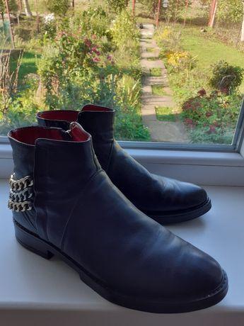 Черевики ботинки кожа натуральная ЗИМА