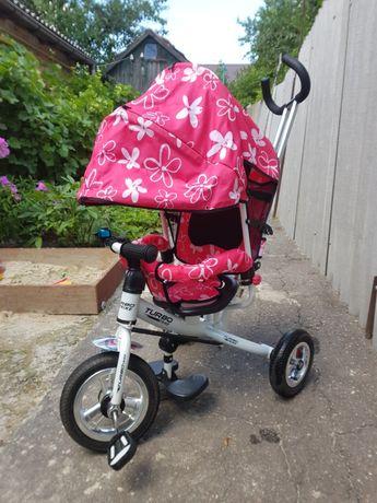 Детский трехколесний велосипед Turbo Trike.Для девочки.400грн!