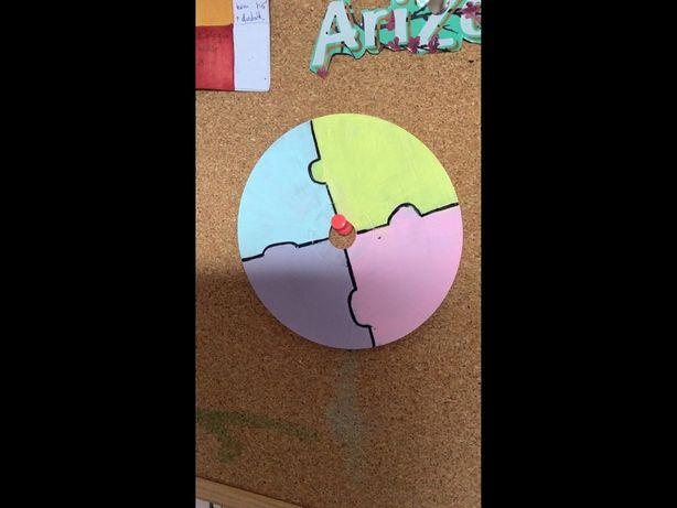 Kolorowa dekoracyjna płyta cd