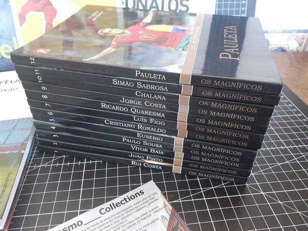 Futebol.  Coleção os Magníficos 12 livros novos