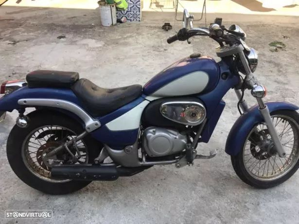gilera eaglet pecas, aprilia Classic / red rose 50cc motorizada