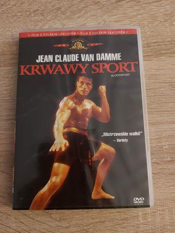 Krwawy Sport 1- Bloodsport 1- Van Damme Polski Lektor Film Dvd Unikat