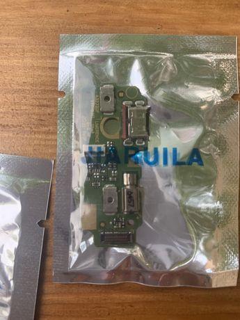 USB-разъем для зарядки, гибкий кабель с микрофоном для Huawei Mediapad