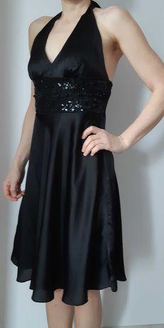 Sukienka wiązana na szyi, rozm. 36