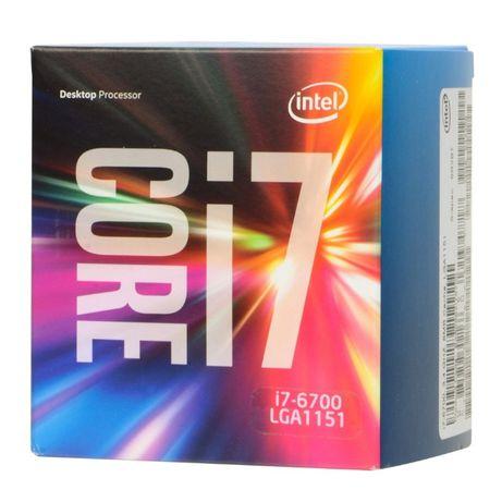 Intel i7-6700 (3.4 Ghz) - Processador (CPU) - Socket (LGA) 1151 (4)