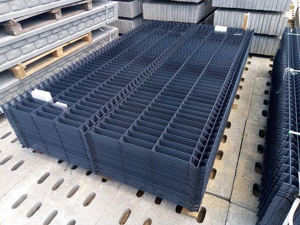 Panel 3D 153 cm fi 5mm OC+RAL, ogrodzenia panelowe podmurówka, montaż