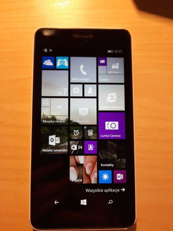 Windows Phone Lumia 640 LTE biała