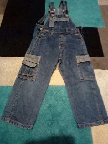 Ogrodniczki jeans