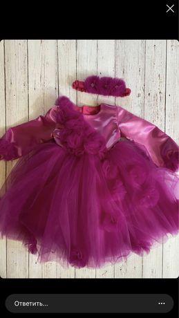 Шикарное пышное детское платье