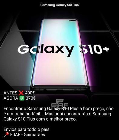 Samsung S10 plus  como novo, temos loja