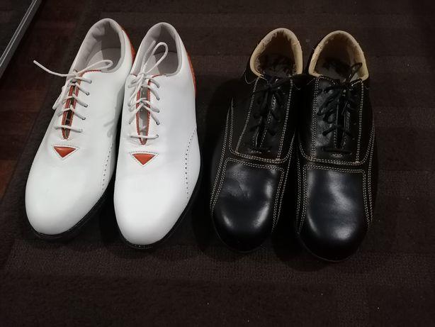 2 pares de sapatos golf