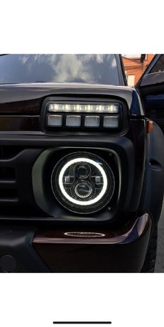 LED, светодиодные фары головного света ВАЗ, Нива, УАЗ, Волга, ГАЗ...