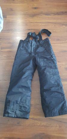 Spodnie narciarski czarne Lupilu 110/116