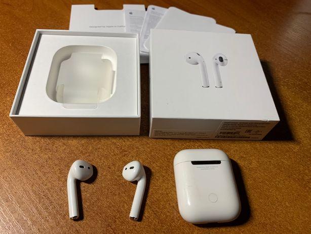 Наушники Apple AirPods A1523 A1722 A1602 оригинал