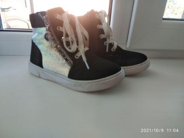 Ботинки для девочки 29 размер