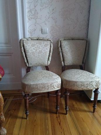 krzesło krzesła b.stare cechowane oryginalne