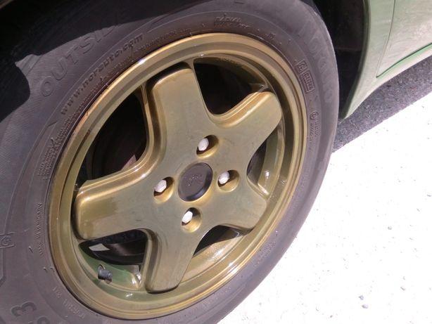"""Jantes 14"""" Peugeot xsi cor exclusiva com pneus"""