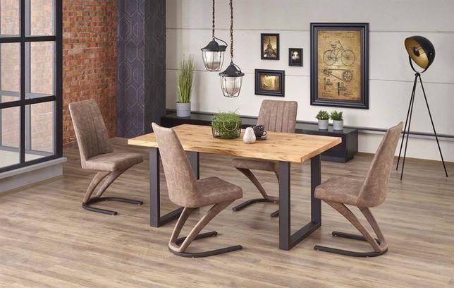 PEREZ stół industrialny stół rozkładany stół drewniany DOWÓZ GRATIS