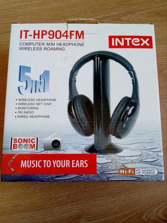Słuchawki INTEX IT-HP904FM KPL
