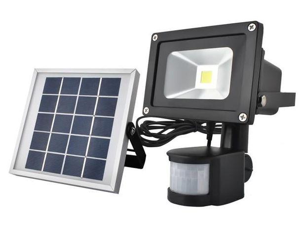 Светильник-лампа на солнечной батарее с датчиком движения