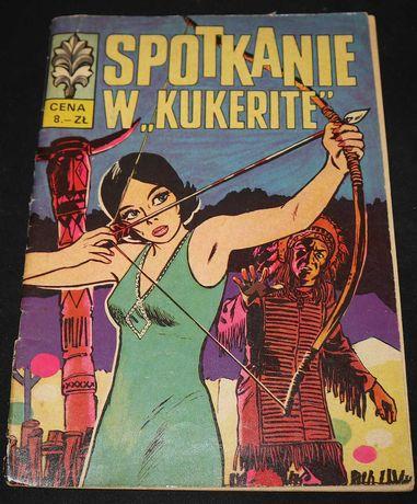 """Komiks Kapitan Żbik - Spotkanie w """"Kukerite"""" 1970"""