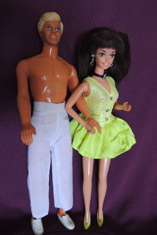 Кукла Кен Mattel Барби Barbie коллекционная Клеймо оригинал