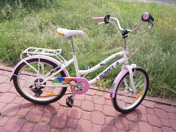 Rower Romet różowy