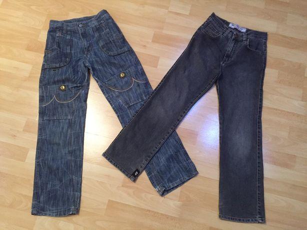 Штани, джинси, джинсы на рост 146- 152 см на 10-12 лет) 2 за 60 грн