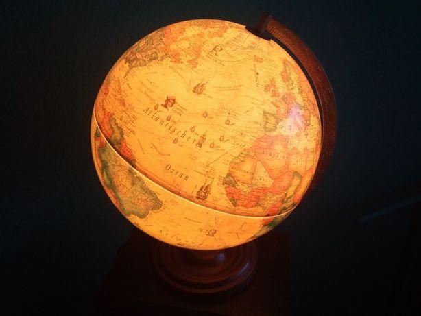 Lampa Globus odkrywcy żeglarze