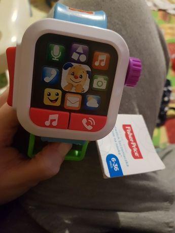 Smartwatch szczeniaczka fisher price