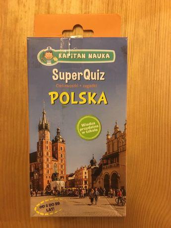 Super quiz ciekawostki + zagadki o Polsce od 6 do 99 lat!