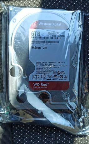 HDD Жесткий диск WD Red 6TB 5400rpm 256MB Новый, запечатанный