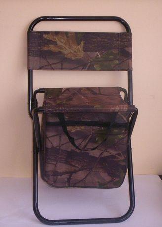 Krzesło wędkarskie składane dla wędkarzy pielgrzymów