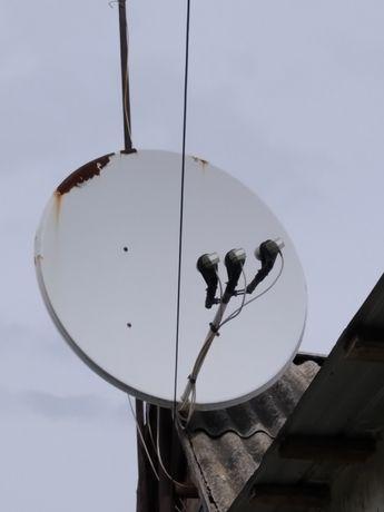 Продам Спутник и тюнер и телик
