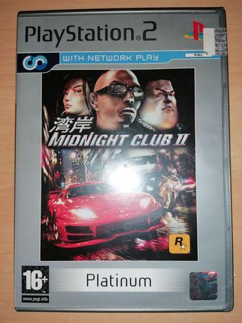 Jogo PS2 ( PlayStation 2 ) Midnight Club II (Bom Estado)