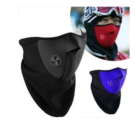 Niebieska i czarna. Maska termoaktywna. Wiatr i mróz nie straszny.