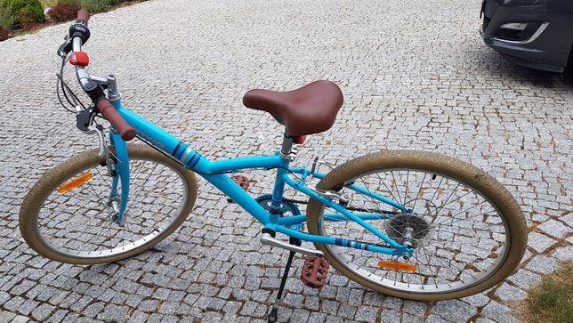"""Rower POPLY 300 24"""" dla dzieci B'TWIN"""