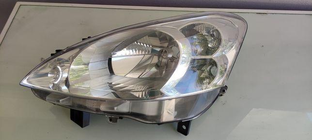 Farol ótica Peugeot Partner