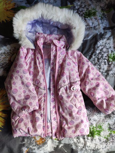 Зимний комбинезон (куртка комбез) 92