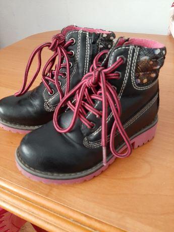 Buty zimowe dla dziewczynki roz.27