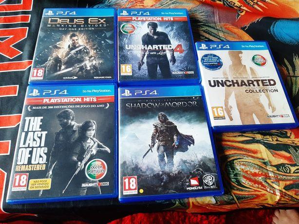 Jogos PS4 para troca / venda
