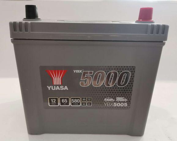 Akumulator YUASA YBX5005 65Ah 580A + GRATIS! NAJNIŻSZA cena