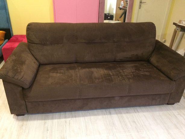 Sofa de tres lugares com garantia